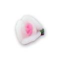 Ukras za nokte 3D Cvet 3 latice bela IJ01-01