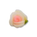 Ukras za nokte 3d ruža bela 6mm IR16-01