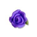 Ukras za nokte 3d ruža ljubičasta 6mm IR16-12
