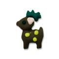 Ukras za nokte Christmas spotted deer IR10-12