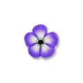 Ukras za nokte cvet ljubičasti IR07-10