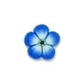 Ukras za nokte cvet t.plavi IR07-09