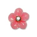 Ukras za nokte dafodil sa cirkonom roze IR09-15
