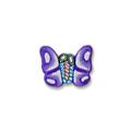 Ukras za nokte leptir ljubičasti IR05-11